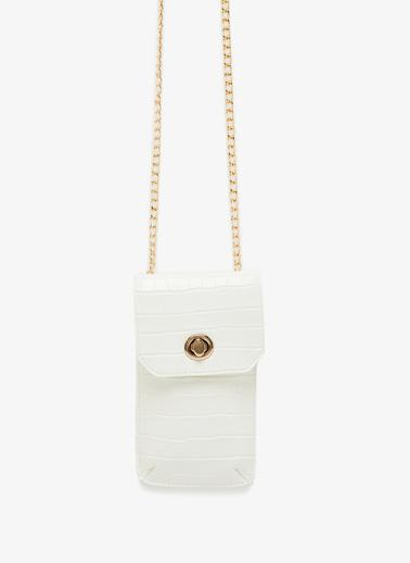 Koton Clutch / El Çantası Beyaz